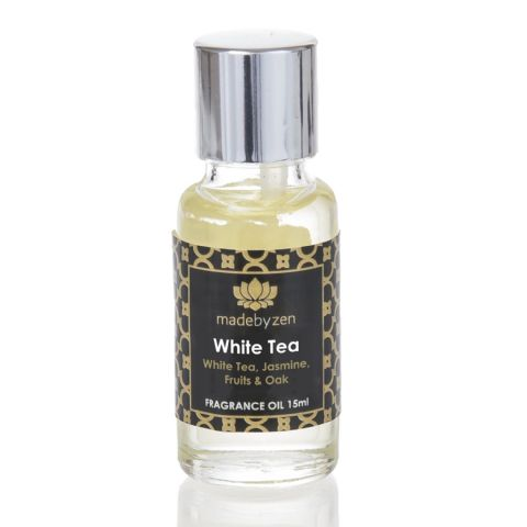 WHITE TEA - Signature Scented Fragrance Oil Made By Zen 15ml